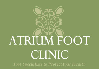 atrium foot clinic logo